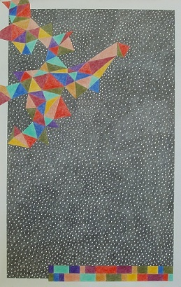 Kevin McDevitt's Work on Paper, Abstract