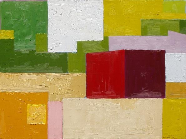 painting, oil on canvas, kevin mcdevitt