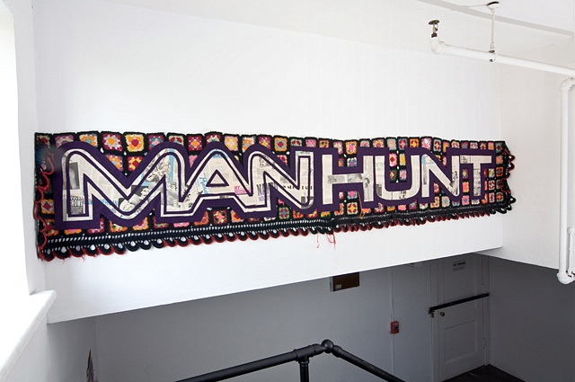 Stairwell 3 Installation: MANHUNT