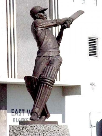 GEORGE HEADLEY(all-time great Jamaican cricketer)