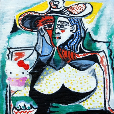 Leslie Holt Hello Picasso (polka dots)