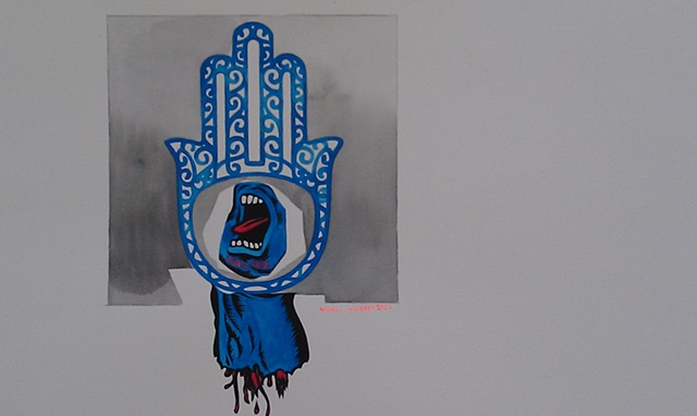 Hand of Fatima-Santa-Cruz