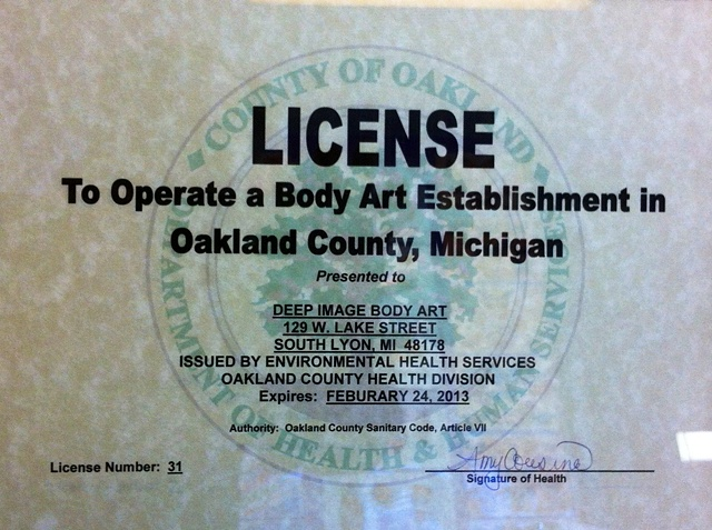 county license