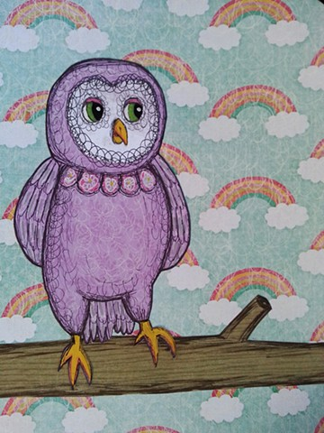 Baby Owl Commission