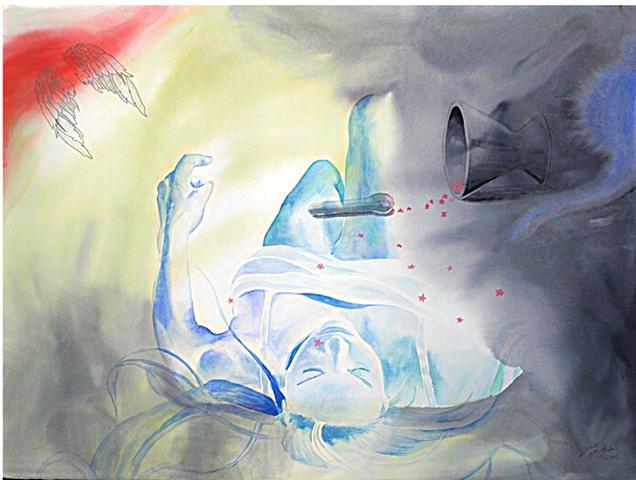 series, watercolor, comics, collage Josh McCallister