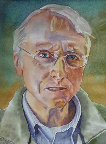 watercolor, josh mccallister, portrait, commission