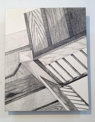 "Stairway 16""w x 20""h"