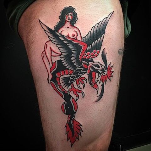 Tattoo by Don Ritson