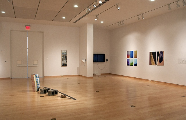 Installation Shot of Senior Art Show Spring 11