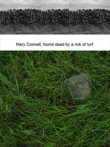 Mary Connel, found dead by a rick of turf.