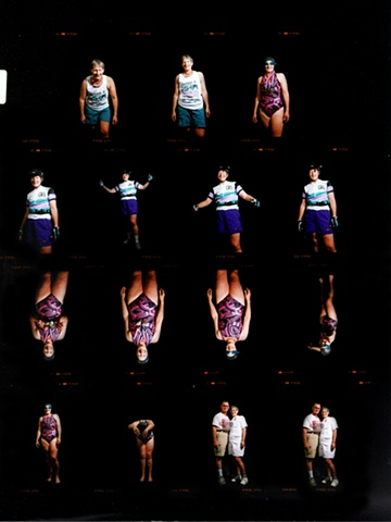 Harriette Contact Sheets and Detail