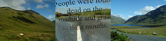 People were found dead on the roadside and grass in their mouths.