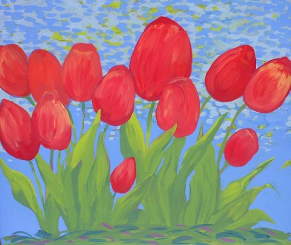 Tulips at In Good Taste
