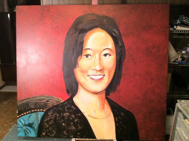 Portrait of Eleanor Kong, Step 5