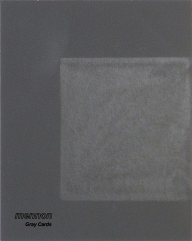 cosmos on gray gray card erasure drawing