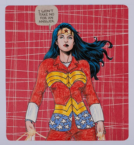 Pantsuit Nation (detail: Wonder Woman)