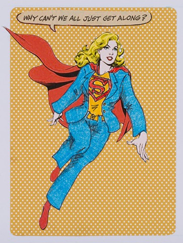 Pantsuit Nation (detail: Supergirl)
