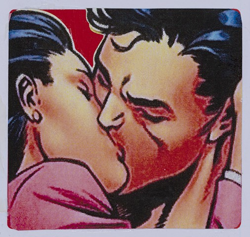 Smooch (detail: Lois and Superman)