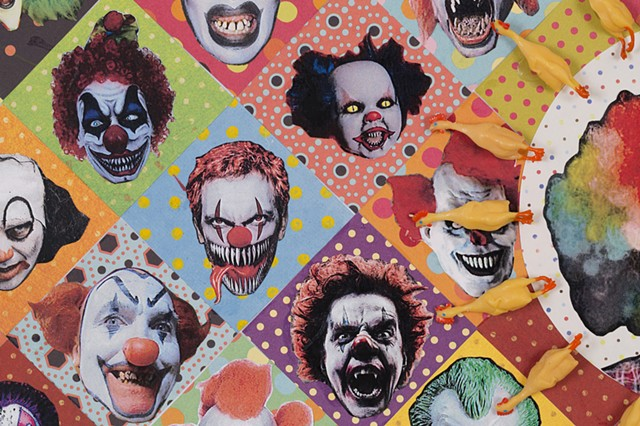 Coulrophobia (detail)
