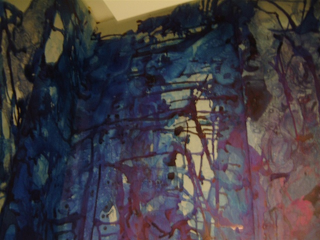 [Installation View 4 - Night] Blue Sublime