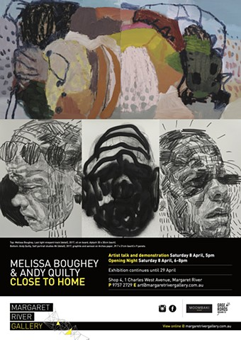 Close to Home - exhibition with Andy Quilty