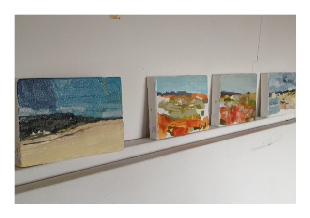 grouping - small paintings