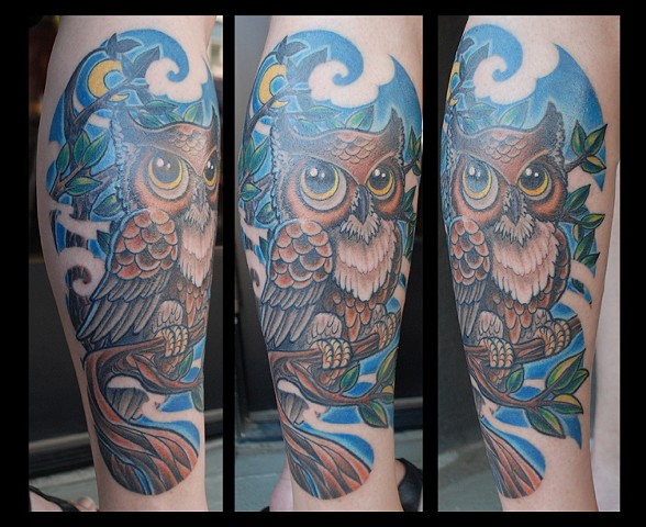 Night Owl (lower leg)