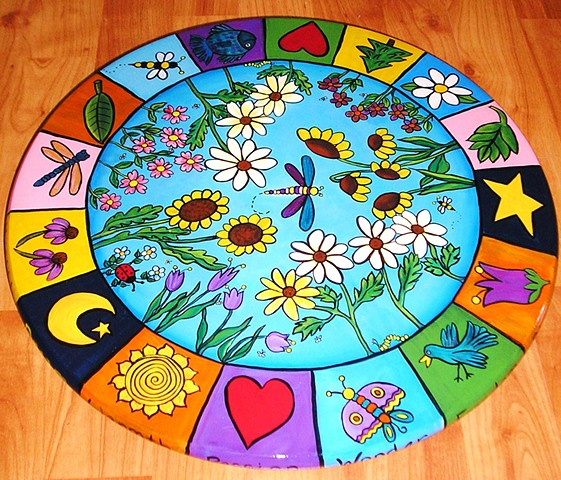 Colorful Nature Lazy Susan