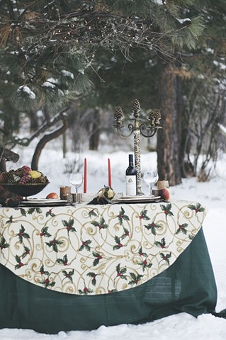 Our Woodland Tablescape