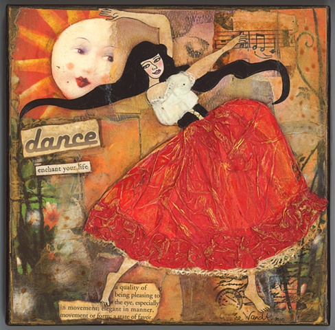 Dance mixed media Collage