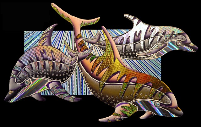 carl lopes, fish paintings, fish