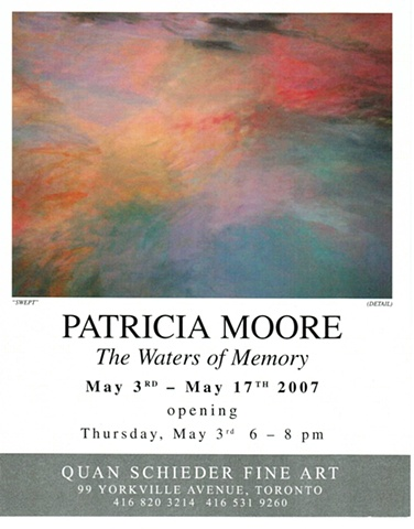 "Swept by Patricia Moore ""THE WATERS OF MEMORY"""
