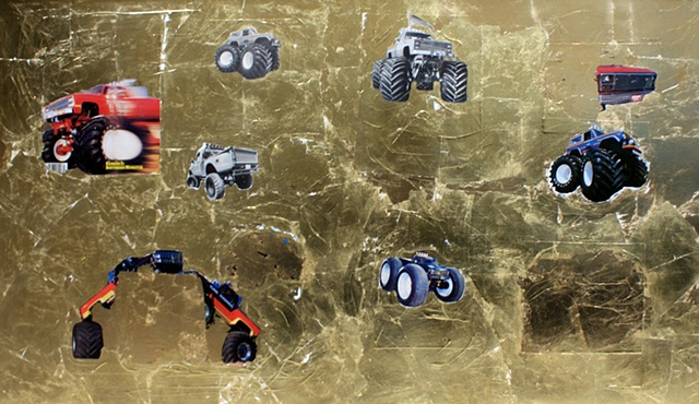 Untitled (Trucks), 2012
