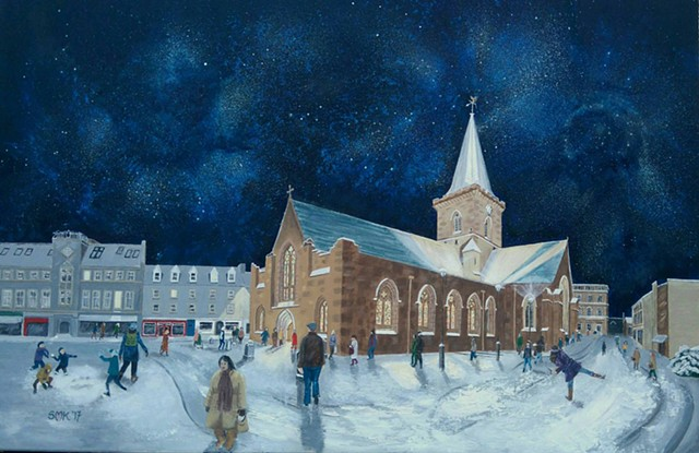 St John's Kirk Perth Scotland Greeting card Post card Print