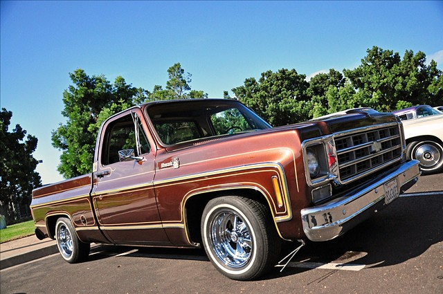 1977 Chevy Silverado , new ride .