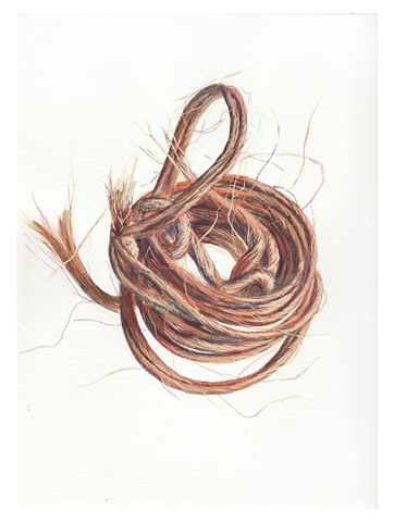 nested twine coil