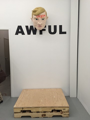 AWFUL Inside Samsøñ (finished installation)