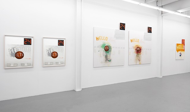 """""""Poet & AWFUL"""" exhibition view 3"""
