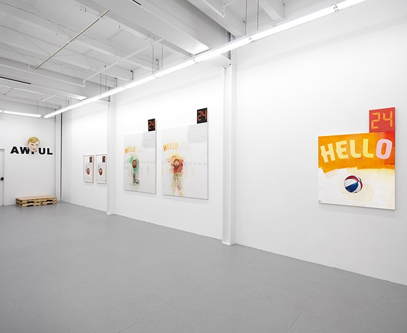"""""""Poet & AWFUL"""" exhibition view 5"""