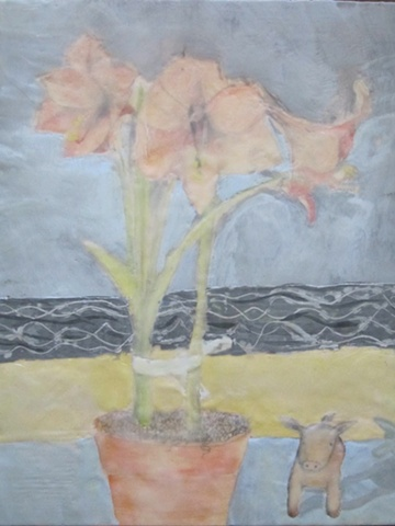 Amaryllis with Bay