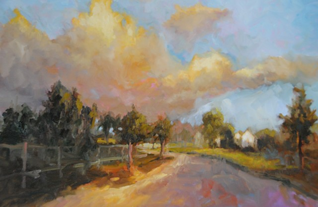 An Amazing Sky - SOLD