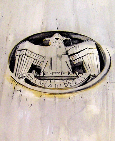 Masonic Temple, Robert Kennedy Parkway (detail)