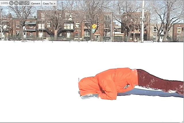 10 Days of Inching Across Parc Laurier, Montreal