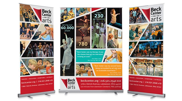 Beck Center Banners