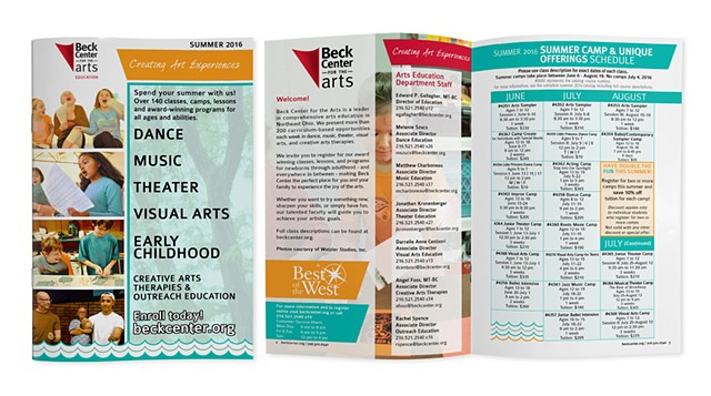Beck Center Education Catalog
