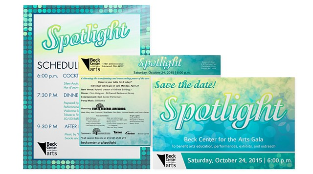 2015 Spotlight Gala Collateral