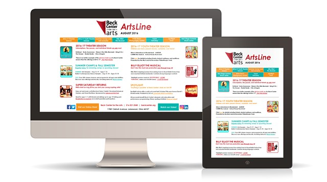 ArtsLine Email Marketing Campaign