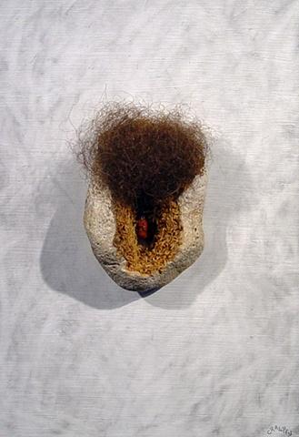 "Ian Crawley Art Sculpture Gods Prototype The nature of man ""Vagina"" by Ian Crawley"