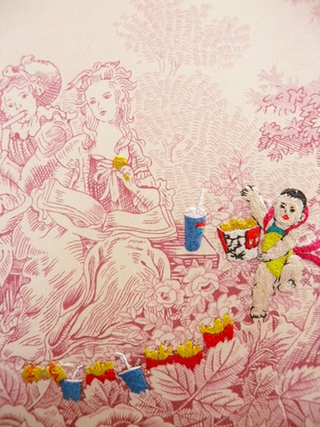 The Picnic No.06 (detail)