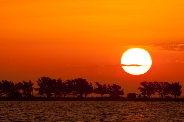 """Sunrise at Sanibel Causeway"""